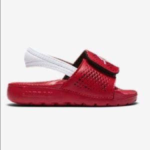 Jordan Hydro 5 Sandals with Elastic Strap